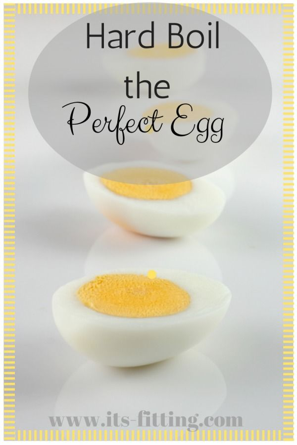Do you know how to perfectly hard boil an egg? Perfect for deviled eggs this summer!| It's fitting