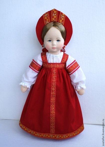 Коллекционные куклы ручной работы. Аленький Цветочек, 45 см. svetlana. Ярмарка Мастеров. Игровая кукла, кукла интерьерная
