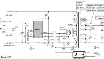 SMPS Simetris 2 x 35 v Non Regulated Untuk Amplifier