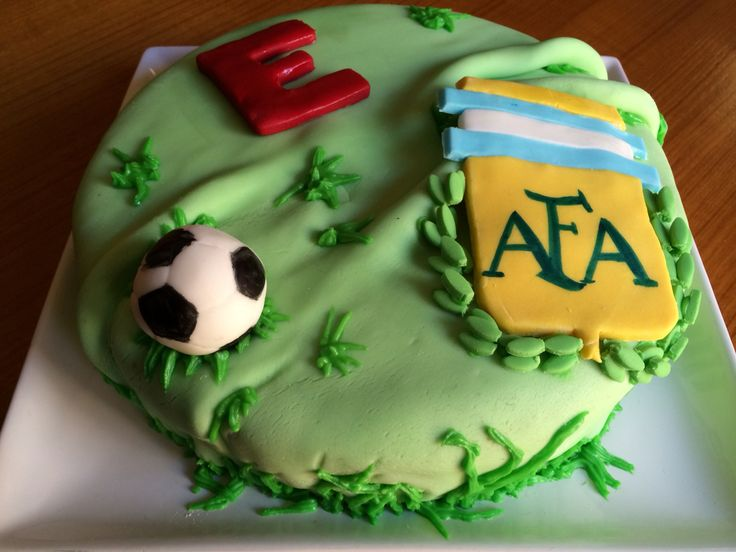 Argentina Football Club birthday cake for kids