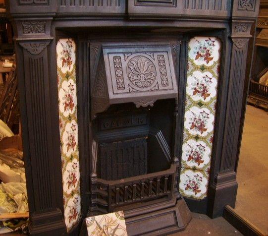 Victorian Fireplace: Best 25+ Victorian Fireplace Tiles Ideas On Pinterest