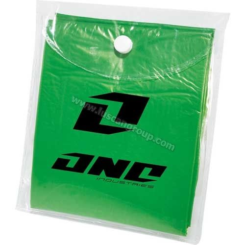 Promotional Products Ideas that work: Perfect for rainy summer days - Rally disposable poncho. Get yours at www.luscangroup.com