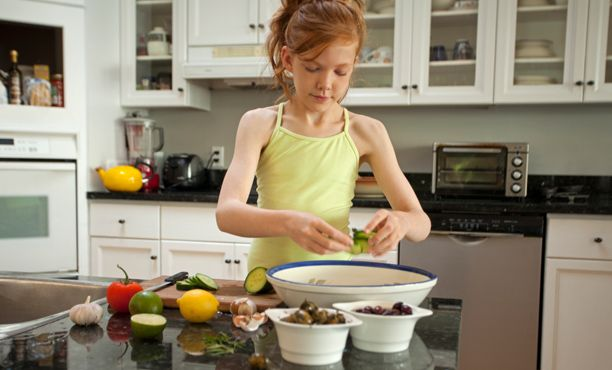 Teens in the Kitchen: Recipes and Tips for Cooking with 10- to 13-year olds