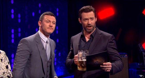 Hugh Jackman and Luke Evans Go Head-to-Head in Gaston Sing-Off
