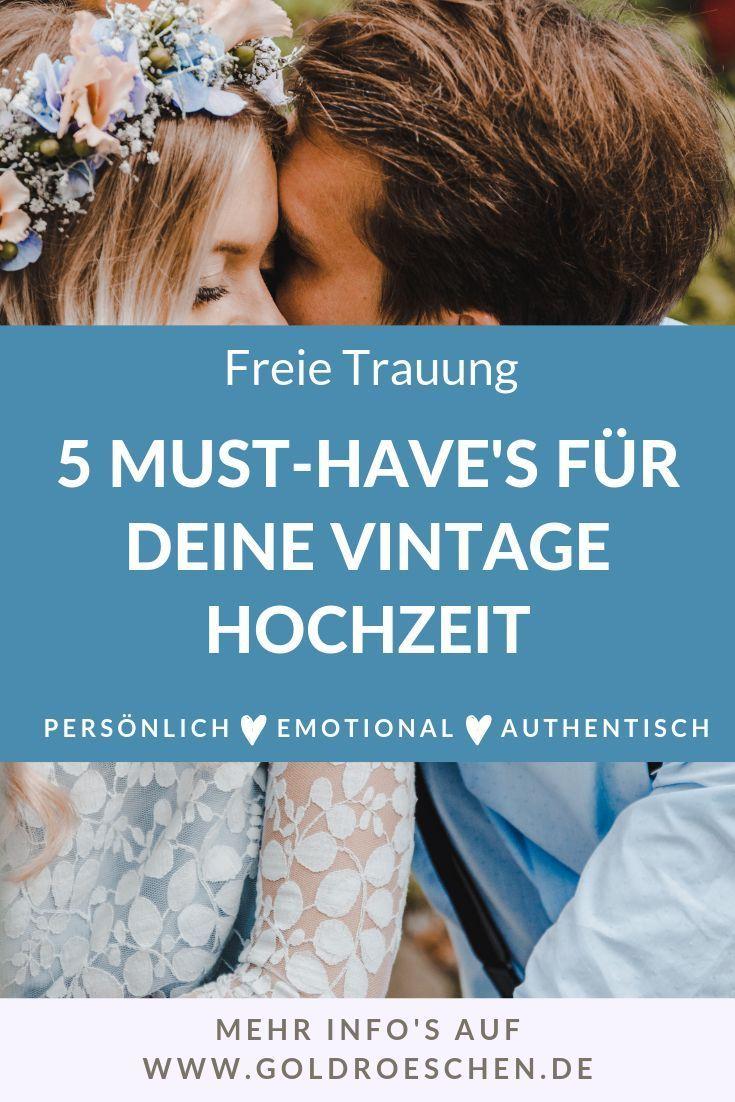 5 Must-Have Utensilien für Deine Vintage Hochzeit