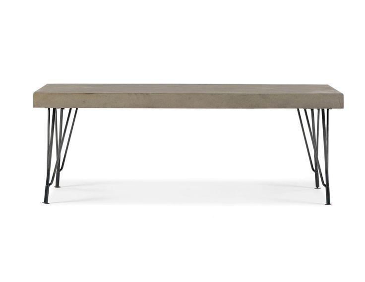 CONCRETE - Concrete coffee table - Grey