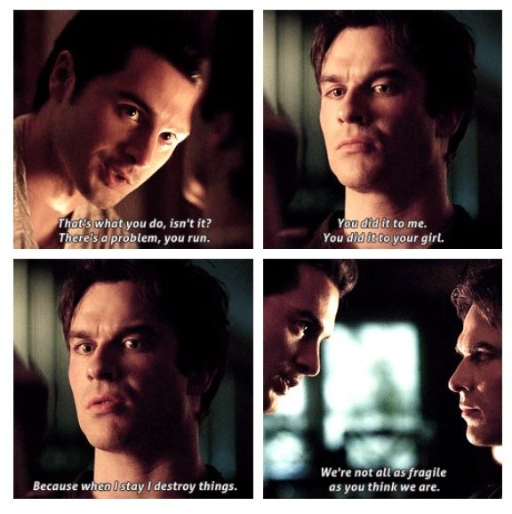 Damon & Enzo | The Vampire Diaries/The Originals | Pinterest