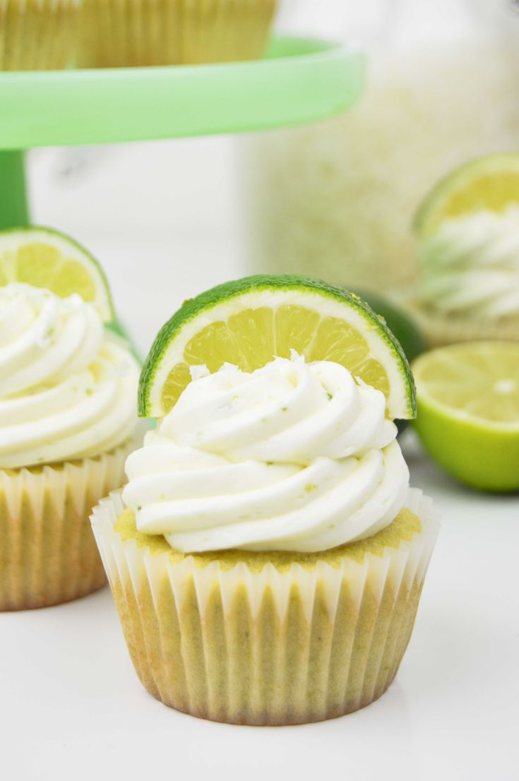 Coconut Lime Cupcakes | www.revamperate.com