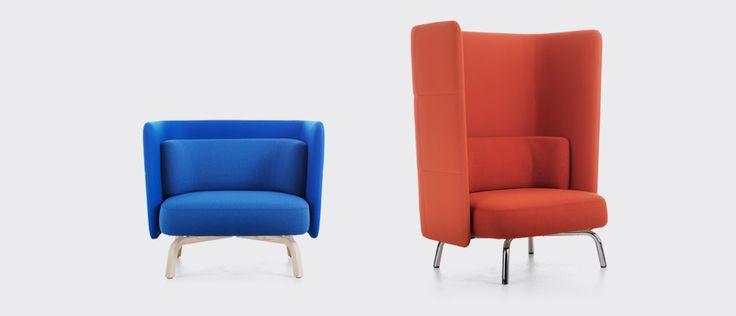 Portus sofa and easy chair, designers designers Johannes Foersom & Peter Hiort-Lorenzen | Lammhults