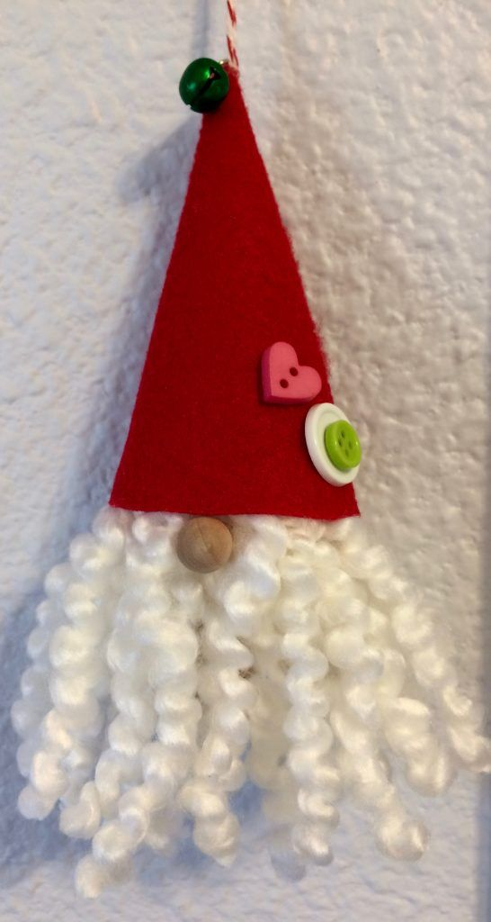 Easy to make Gnome with a wine cork base