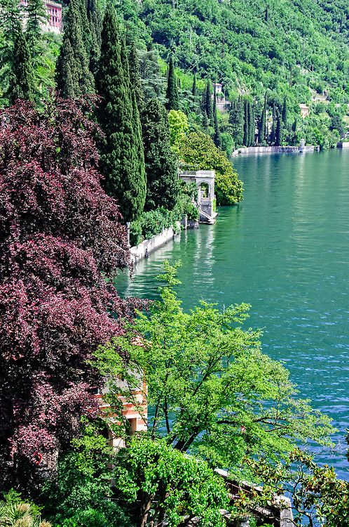 Beautiful Lake Como ~ in Bellagio, Lombardy Region of Italy by Mark Bunday