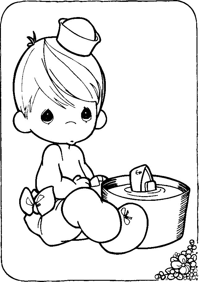 precious moments coloring pages autumn - photo#19