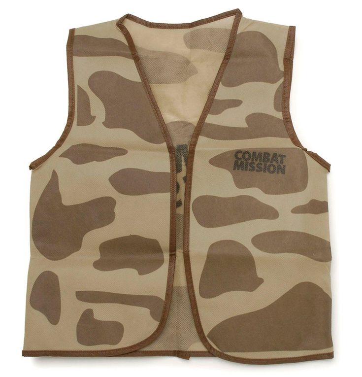 Camouflage Vest from BirthdayExpress.com