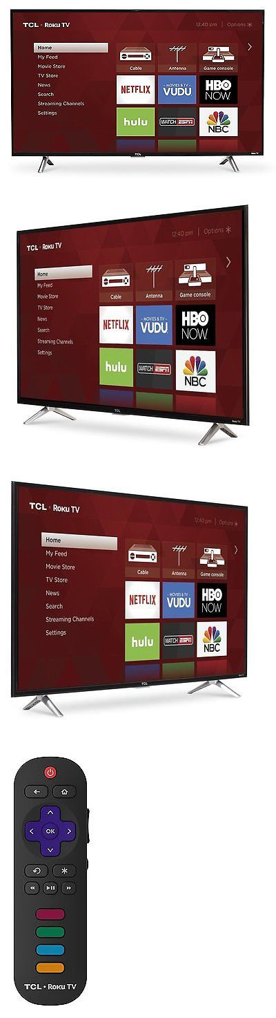 Smart TV: Tcl 43 Roku Smart Led Tv Hdtv With 1080P Resolution 43S305 (2017 Model) -> BUY IT NOW ONLY: $309.99 on eBay!