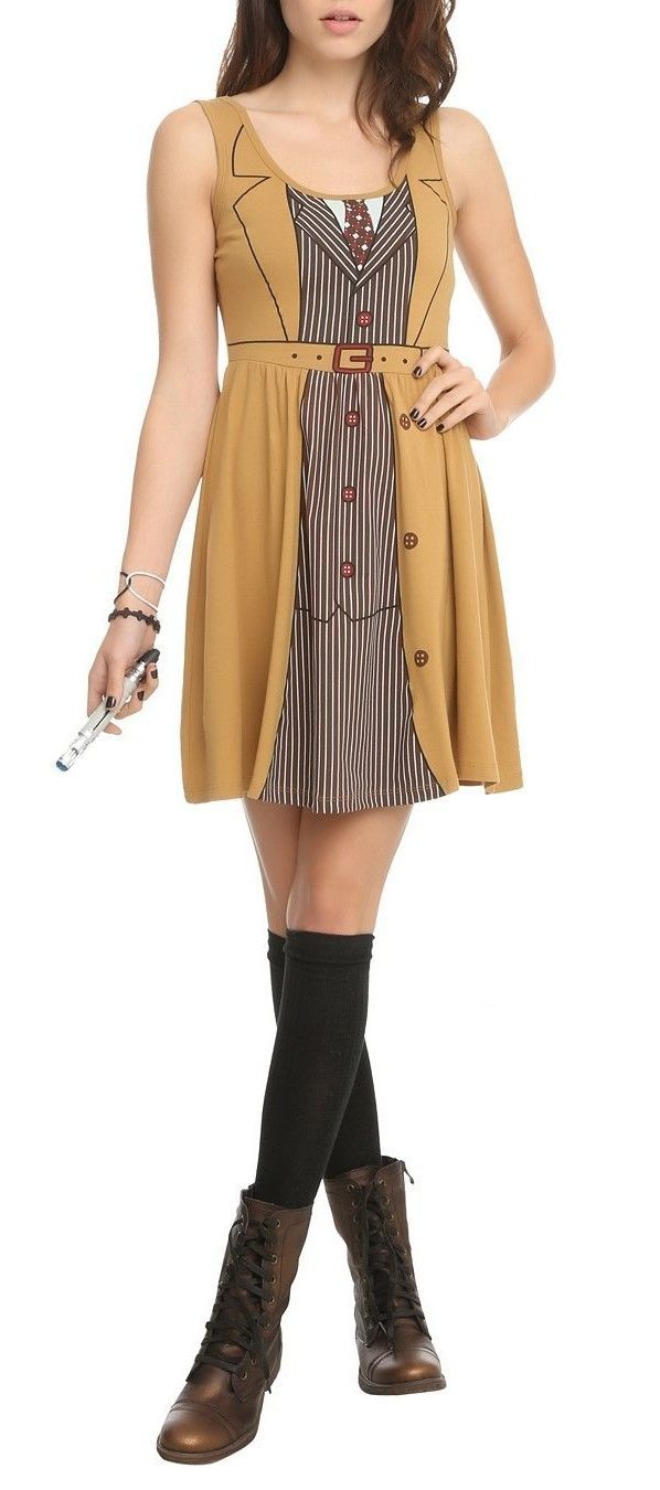 """The """"Tenth Doctor"""" Costume Dress [Pic]"""