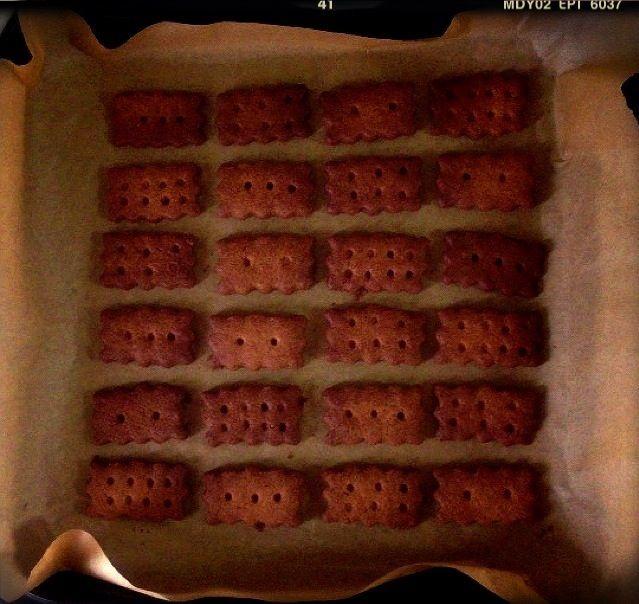 理想の硬いクッキー研究中〜!  今日は、全粒粉を入れてザクザクになるレシピで作りました♡ きび砂糖、はちみつ、練乳の3つを使って甘さをつけてます〜! クッキーに練乳使うの初めて!  本当にザクザクに出来て満足♡  でも、やっぱり硬くない〜‼ 次は堅パンを目指したレシピを試してみます‼‼笑。 - 70件のもぐもぐ - ザクザク‼全粒粉ビスケット by minami23