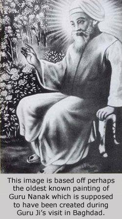 Guru Nanak historic image Happy birthday Guru Nanak Ji