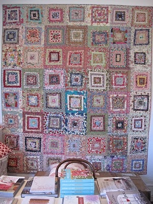 Patchwork on central park, this would make a really cute rag quilt!