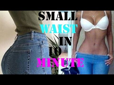 how to get a smaller waist fast|10  minutes abs exercises to shrink waist|workout for a slim waist - YouTube