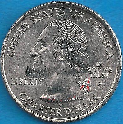 2005 P West Virginia State Quarter Error Coin Obv