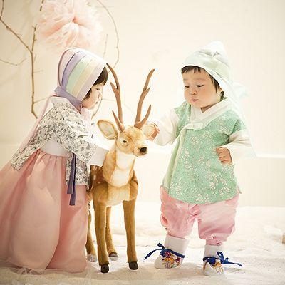 .카펠 배자식한복 | Korean Children.