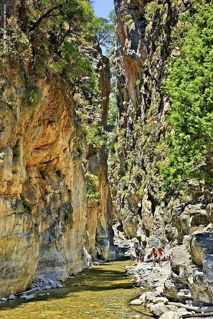 Σαμαριά - Ο βασιλιάς των φαραγγιών: Είναι από τα μεγαλύτερα φαράγγια της Ευρώπης και για πολλούς επισκέπτες ο πρώτος και κύριος λόγος για να έρθουν στην Κρήτη. Το φαράγγι της Σαμαριάς έχει συνολικό μή