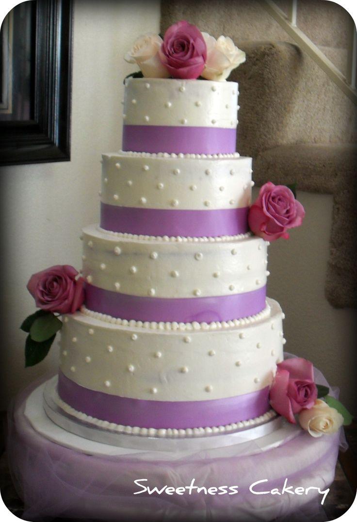 elegant wedding cakes | Simple Elegant Wedding Cake | Sweetness Cakery