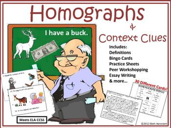 Homophones and Homonyms List - SpellingCity