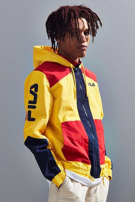 40b959168aebf FILA Earl Hooded Windbreaker Jacket | Coats & JAckets in 2019 | Fila ...