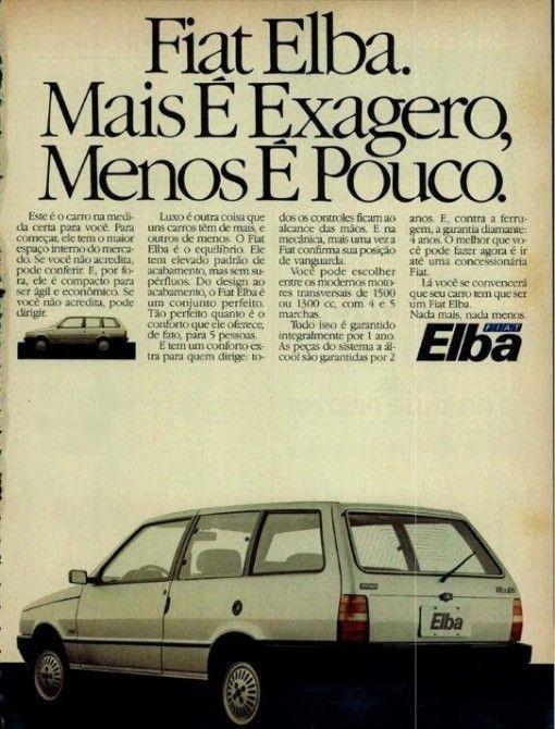 Client: Fiat Elba