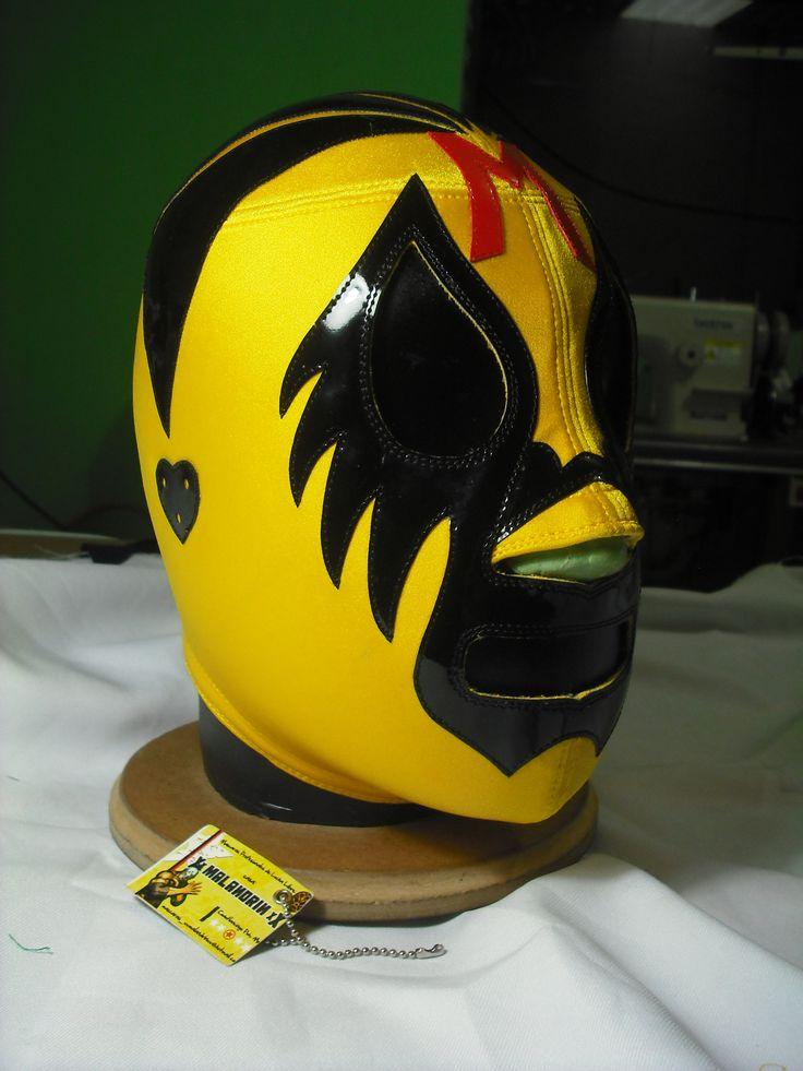 Mil Mascaras clasica en amarillo :)
