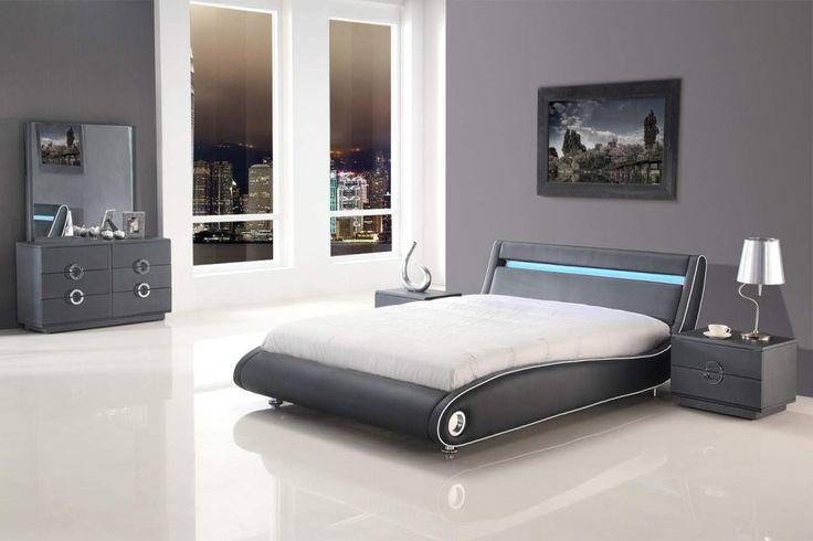 Wonderful modern king size platform bedroom sets Picture Inspirations