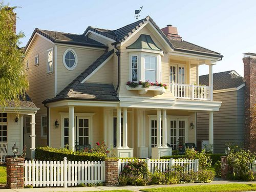 Exterior Wall Paint : Beach house exterior color schemes home wall