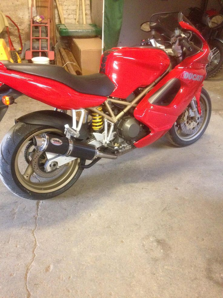 Ducati ST2 Max Torque Cans Motorbike exhausts