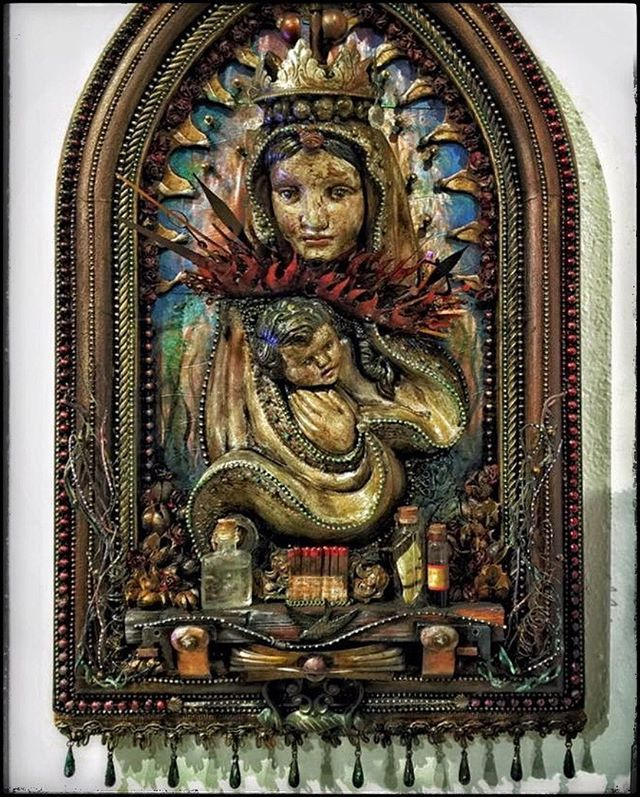 17 Best Images About Shrines And Altars On Pinterest: 17 Best Images About ART: Shrines, Altars, Nichos