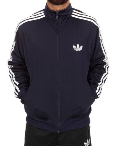 Adidas Adi Firebird Track Top Jacket X41207 Style: X41207-INDIGO Size: L. Size-Large, Color-INDIGO / WHITE. Synthetic. Brand New. Original Packaging. Durable. 100% Authentic.