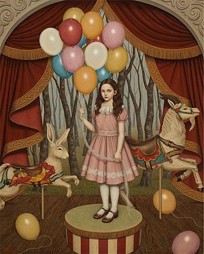 ノスタルジックな少女たちの世界を描く松本潮里の絵画作品集 Shiori Matsumoto