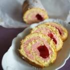 Recept printen Cakerol met aardbeienroom recept - Recepten van Allrecipes