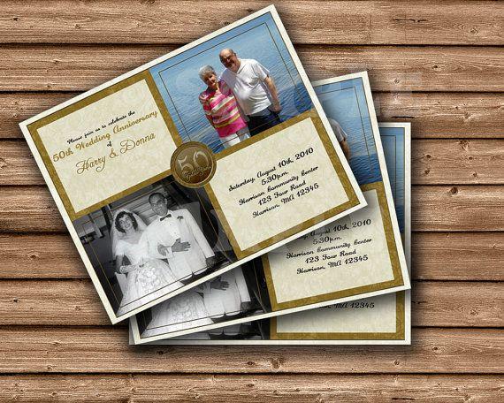 Wedding Celebration Invitation: 1000+ Ideas About 50th Wedding Anniversary Invitations On