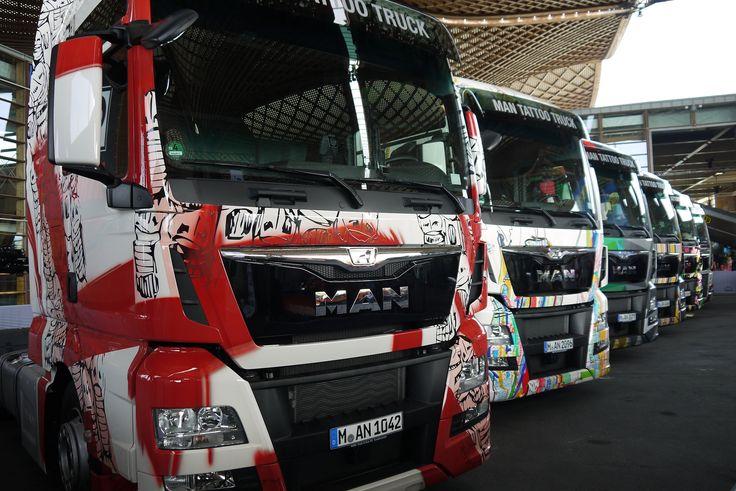 Tattooed MAN Trucks