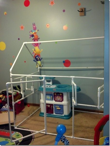 pvc playhouses how to make   Awesome DIY PVC Playhouse. Just a photo now but more pics and plans to ...
