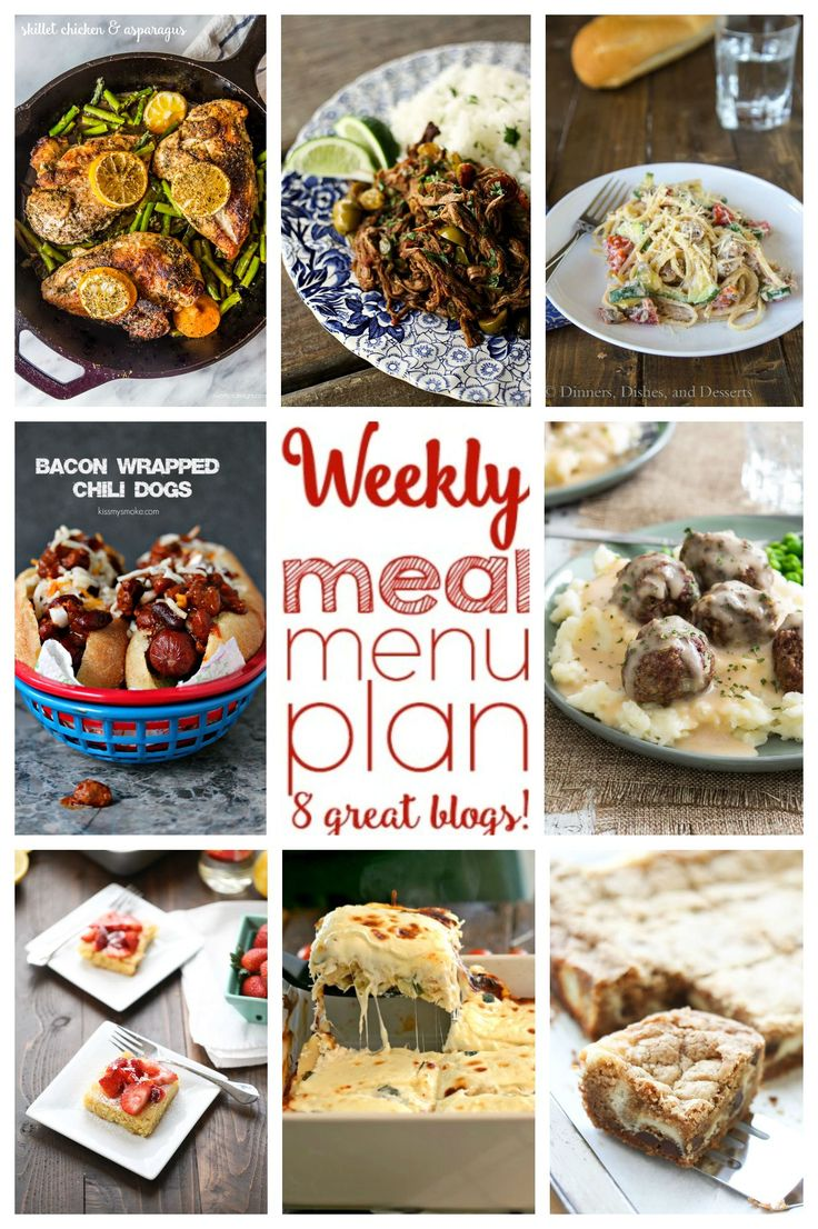 Weekly Meal Plan- Week #3, Swing by cravingsofalunatic.com to browse through this week's meal plan recipes.