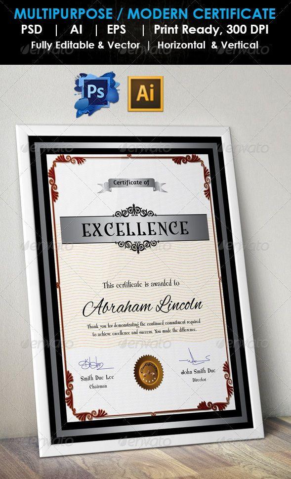 10 best hr images on pinterest certificate design certificate certificate template yadclub Images
