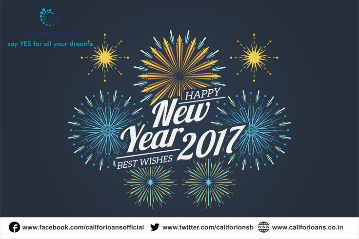 Callforloans Team Wishing You All, Happy Happy New Year and Welcoming 2017.