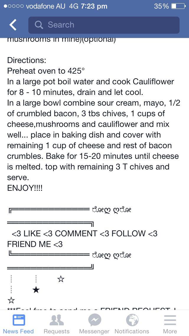 Loaded cauliflower bake 2