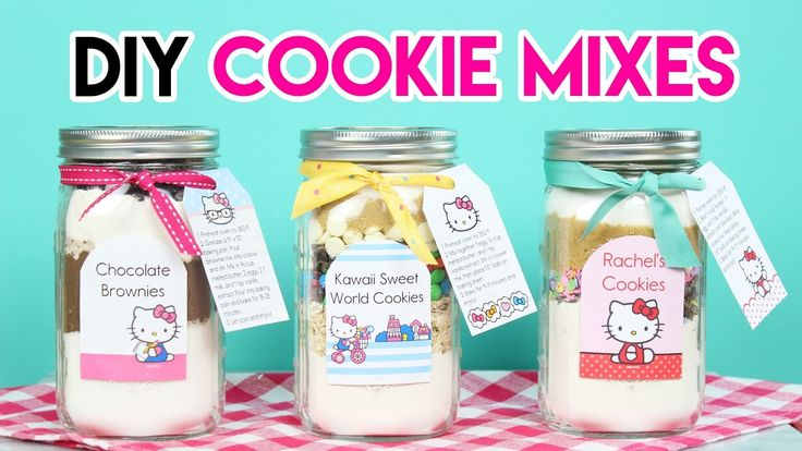 How to Make DIY Hello Kitty Cookie Mixes!