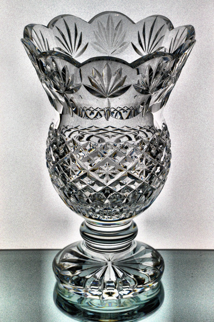 21 best cut crystal favorites images on pinterest crystal waterford society crystal fitzwilliam vase limited ed 71500 w box ireland reviewsmspy