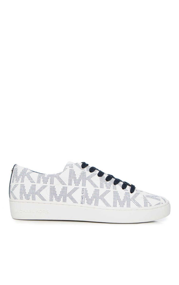 Sneakers Keaton Lace Up WHITE/NAVY - Michael - Michael Kors - Designers -  Raglady
