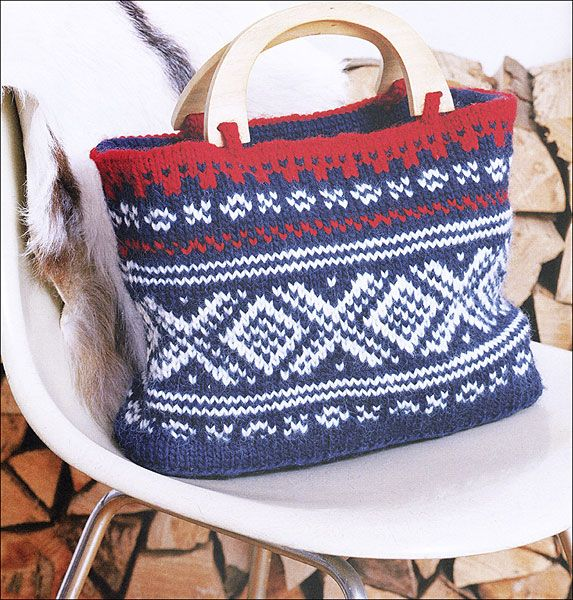 Marius knitted bag