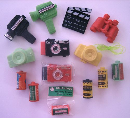 camera erasers